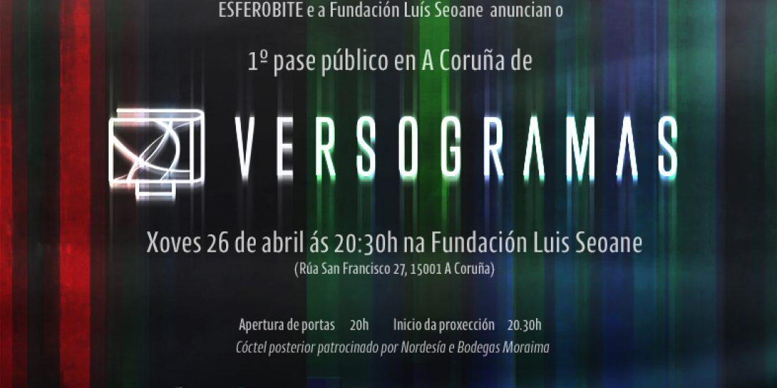 1st public screening at A Coruña