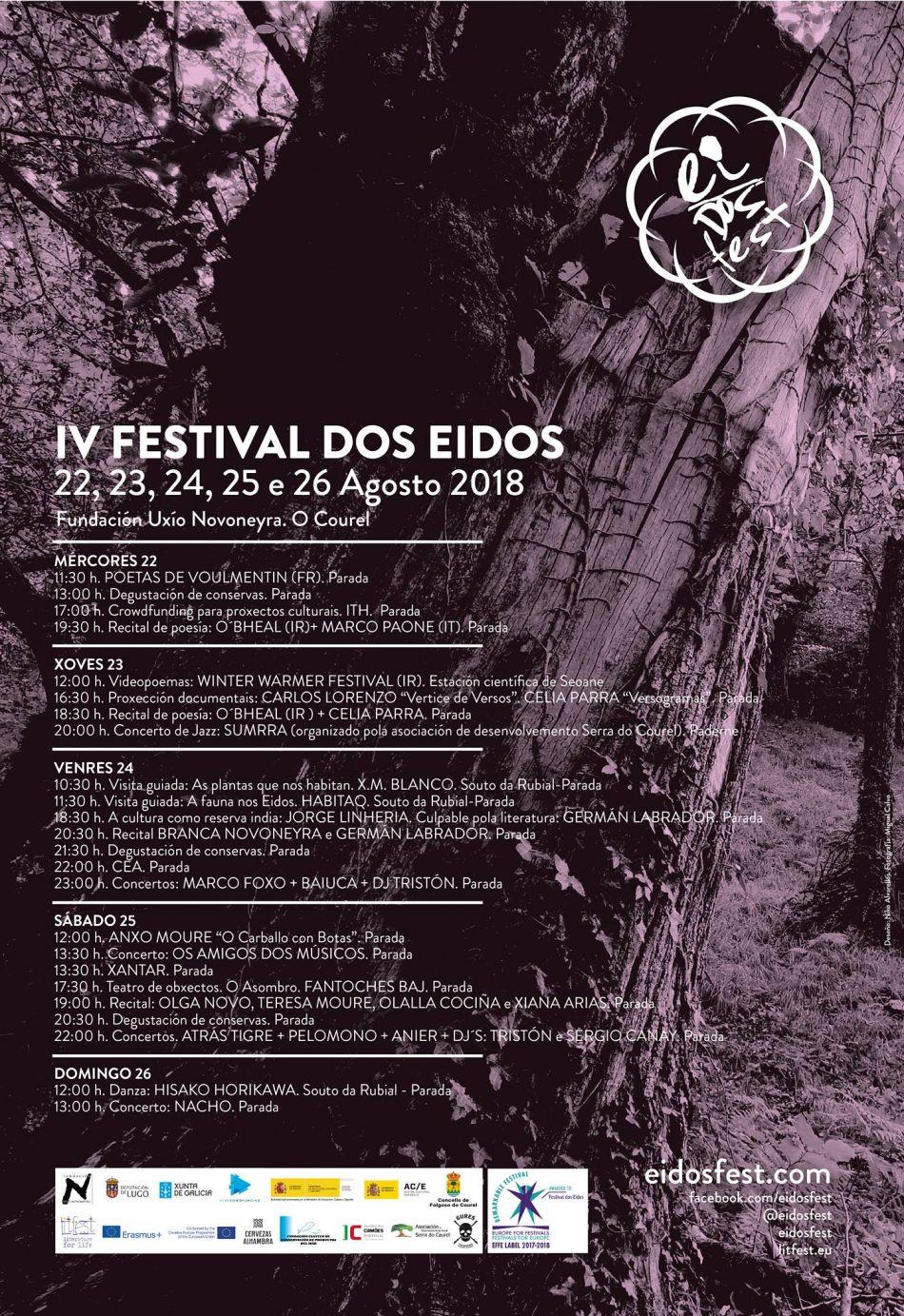Versogramas en Festival dos Eidos