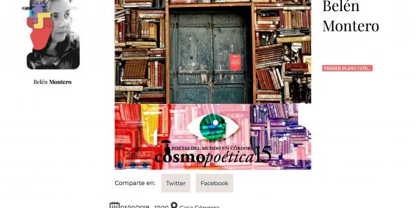 Versogramas en Cosmopoética