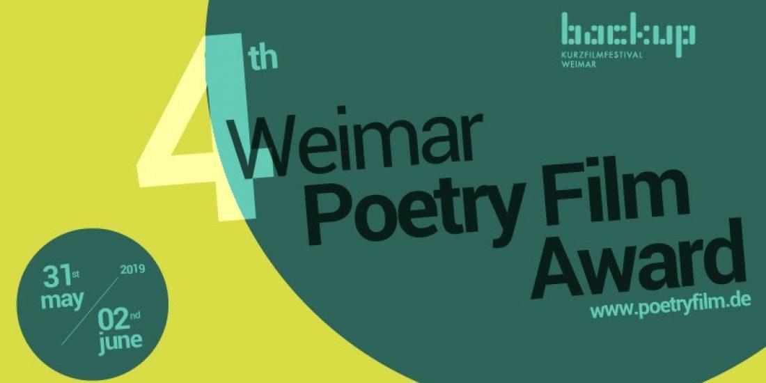 Premiere Internacional de Versogramas en Weimar Poetryfilm Award