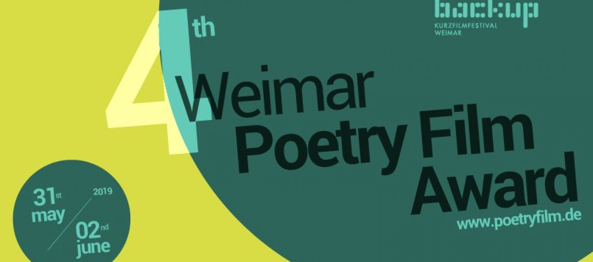 International Premiere of Verses&Frames at Weimar Poetryfilm Award