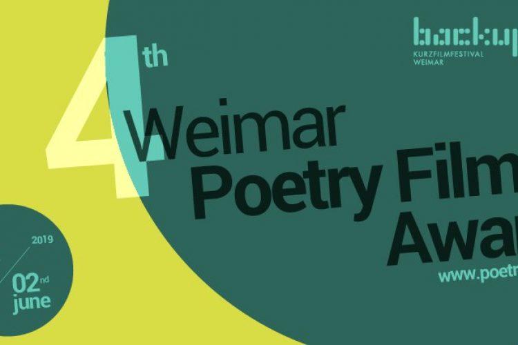 International Premiere of Verses&Frames at Weimar Poetryfilm Award