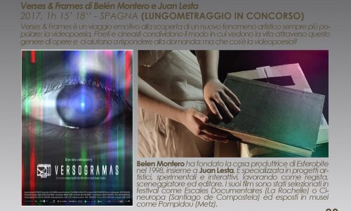 Italian Premiere of Verses&Frames at Versi di Luce