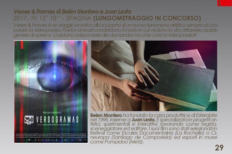 Premiere italiana de Versogramas en Versi di Luce