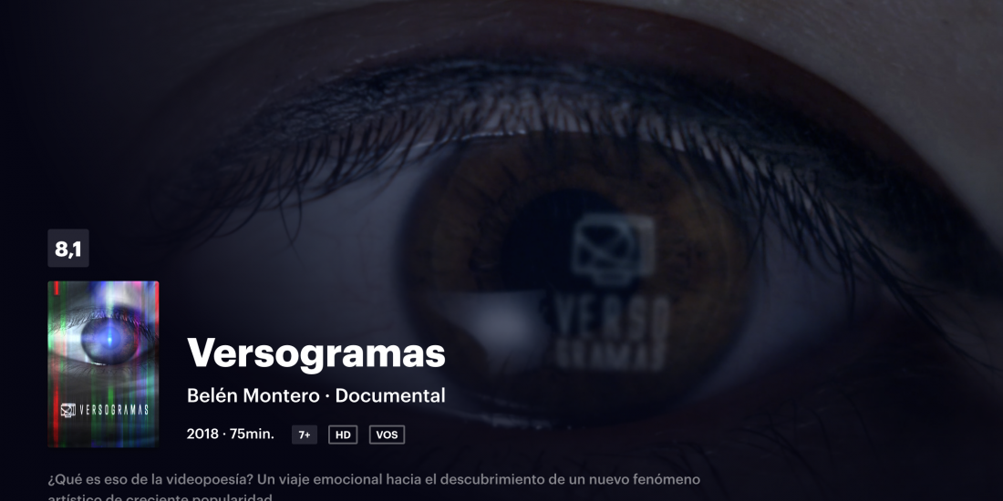 Versogramas en FILMIN